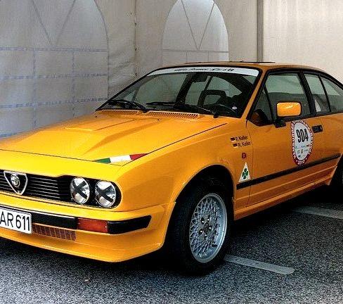 81 Alfa Romeo GTV6 2.5