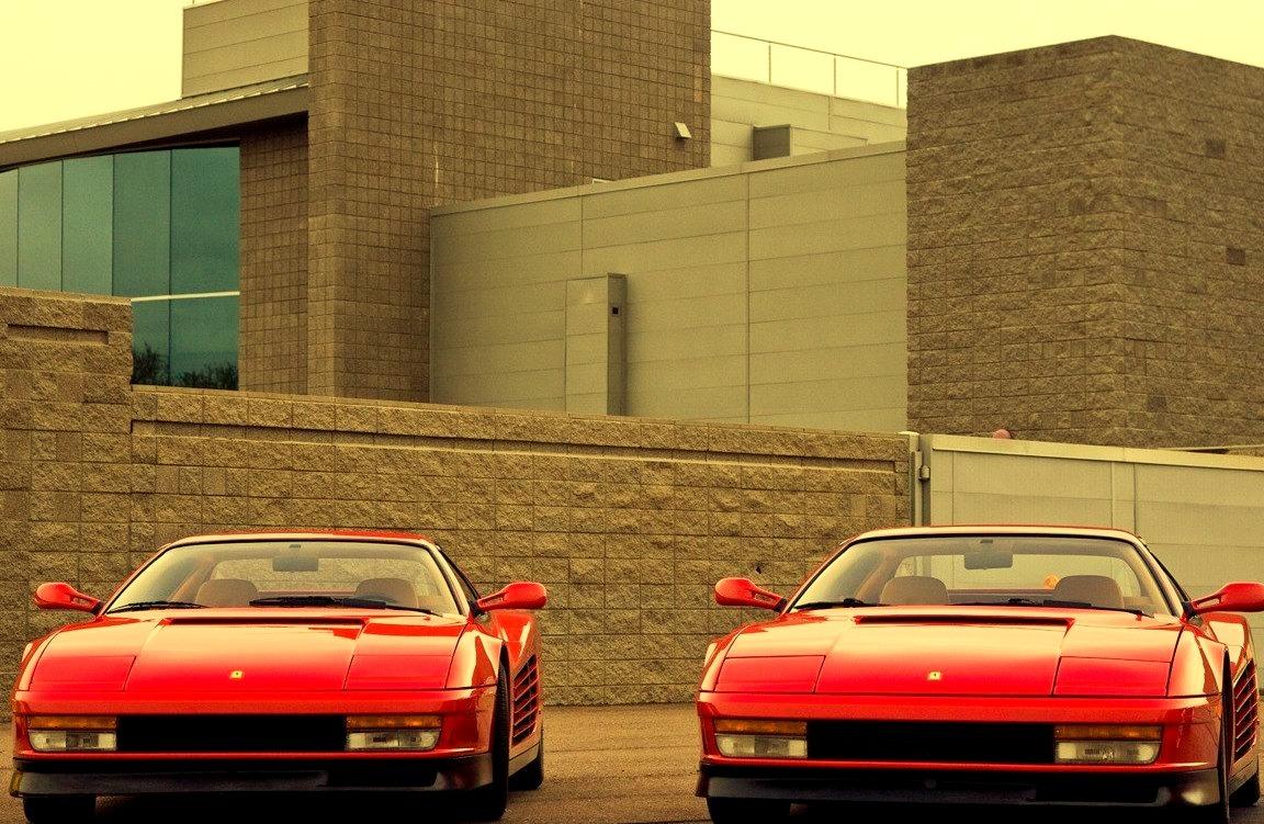 Seeing Double - Ferrari 512TR Testarossas