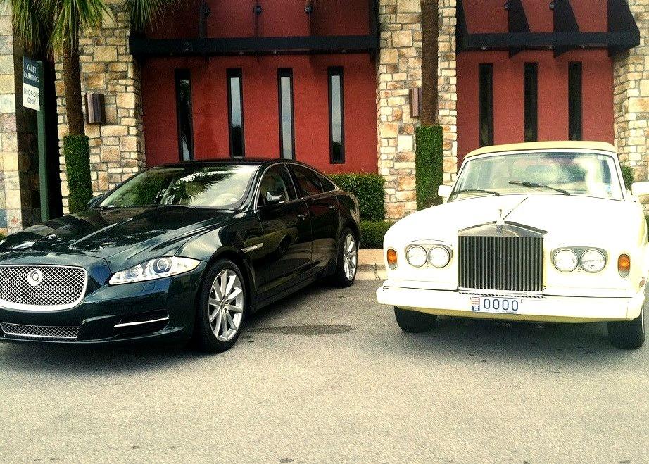 Jaguar XJ & Rolls Royce Corniche