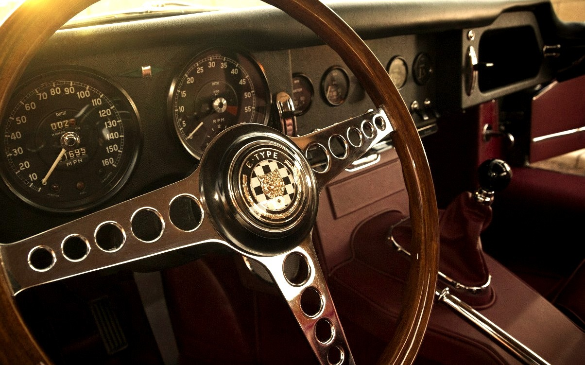 1964 Jaguar XKE Series 1 Roadster Interior