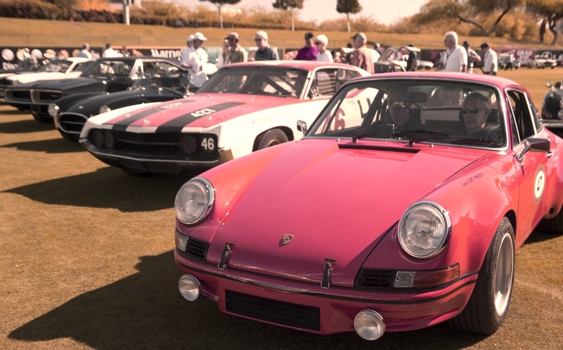 Porsche and Others at the 2014 Copperstate 1000